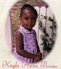 Ms. Kayla Anna Boone -  June 29, 2003
